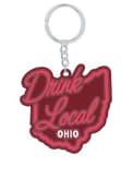 Drink Local Ohio Keychain