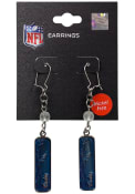 Indianapolis Colts Womens Frosted Bead Earrings - Blue