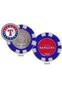 Texas Rangers Poker Chip Golf Ball Marker