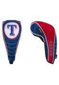 Texas Rangers Shaft Gripper Driver Golf Headcover