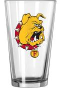Ferris State Bulldogs Logo Value Pint Glass