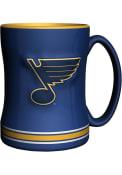 St Louis Blues 14oz Sculpted Relief Mug