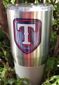 Texas Rangers Shield 30oz Ultra Stainless Steel Tumbler - Silver