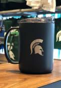 Michigan State Spartans 15oz Ultra Powdercoat Mug Stainless Steel Tumbler - Black