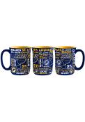 St Louis Blues 15oz Sculpted Spirit Mug