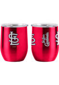 St Louis Cardinals 16oz Curved Ultra Stainless Steel Tumbler - Red