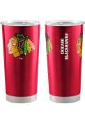 Chicago Blackhawks 20 OZ Gameday Stainless Steel Tumbler - Red