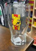 Ferris State Bulldogs 20 OZ Half Stripe Pint Glass