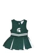Michigan State Spartans Baby Logo Cheer - Green
