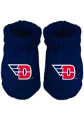 Dayton Flyers Baby Team Logo Bootie Boxed Set - Blue
