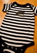 Emporia State Hornets Baby Skylar One Piece - Black