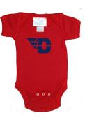 Dayton Flyers Baby Logo One Piece - Red