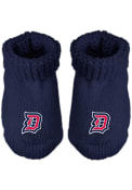 Duquesne Dukes Baby Knit Bootie Boxed Set - Navy Blue
