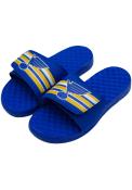 St Louis Blues Varsity Stripes Flip Flops - Blue