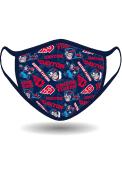 Dayton Flyers All Over Print Fan Mask - Blue