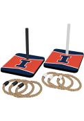 Illinois Fighting Illini Quoit Ring Toss Tailgate Game