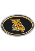 Missouri Western Griffons Black Domed Oval Car Emblem - Black
