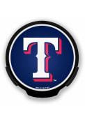 Texas Rangers Blue Power Auto Decal - Blue