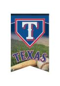 Texas Rangers 17x26 Baseball Felt Banner