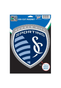 Sporting Kansas City Die Cut Car Magnet - Navy Blue