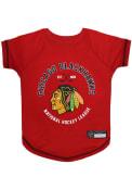 Chicago Blackhawks Team Logo Pet T-Shirt