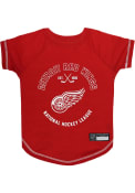 Detroit Red Wings Team Logo Pet T-Shirt