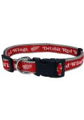 Detroit Red Wings Adjustable Pet Collar