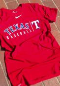 Texas Rangers Nike Practice T Shirt - Red