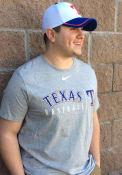 Texas Rangers Nike Practice T Shirt - Grey