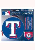 Texas Rangers 11x11 Prismatic Magnet