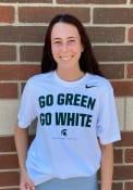 Michigan State Spartans Nike DriFit Phrase T Shirt - White