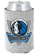 Dallas Mavericks Silver Glitter Can Coolie