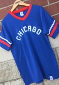 Rivertown Inkery Chicago Blue Chicago Ringer Tee Short Sleeve T Shirt