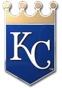 Sports Licensing Solutions Kansas City Royals Aluminum Car Emblem - Blue