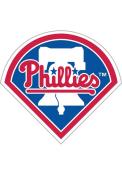 Philadelphia Phillies 12 Inch Logo Car Magnet - Blue