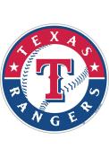 Texas Rangers 12 Inch Logo Car Magnet - Red