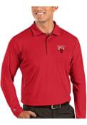 Chicago Bulls Antigua Tribute Polo Shirt - Red
