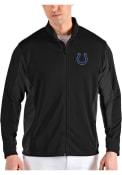 Indianapolis Colts Antigua Passage Medium Weight Jacket - Black