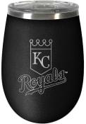 Kansas City Royals 10oz Stealth Stemless Wine Stainless Steel Tumbler - Black