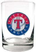 Texas Rangers 14oz Emblem Rock Glass