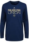 Philadelphia Union Toddler Locker Stacked T-Shirt - Navy Blue