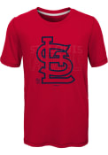 St Louis Cardinals Youth All Action T-Shirt - Red