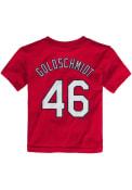 Paul Goldschmidt St Louis Cardinals Infant Outer Stuff N N T-Shirt - Red