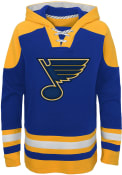 St Louis Blues Youth Ageless Must have Hooded Sweatshirt - Blue