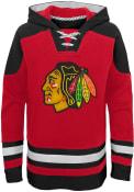 Chicago Blackhawks Boys Ageless Must have Hooded Sweatshirt - Red