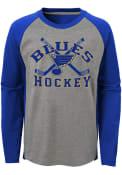 St Louis Blues Boys Intent Fashion T-Shirt - Grey