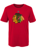 Chicago Blackhawks Boys Primary Logo T-Shirt - Red
