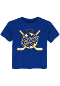 St Louis Blues Toddler Playtime T-Shirt - Blue