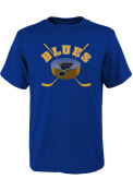 St Louis Blues Boys Game Ready T-Shirt - Blue