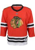 Chicago Blackhawks Boys 2019 Home Hockey Jersey - Red